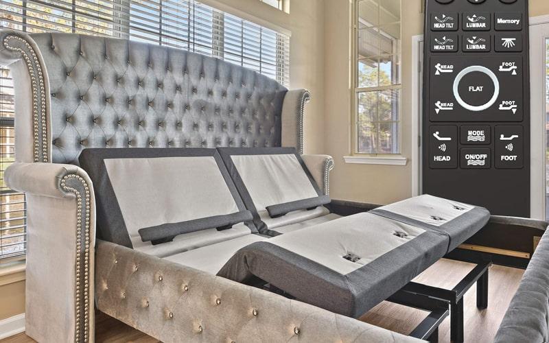 Best Lumbar Support: Sven & Son Adjustable Bed