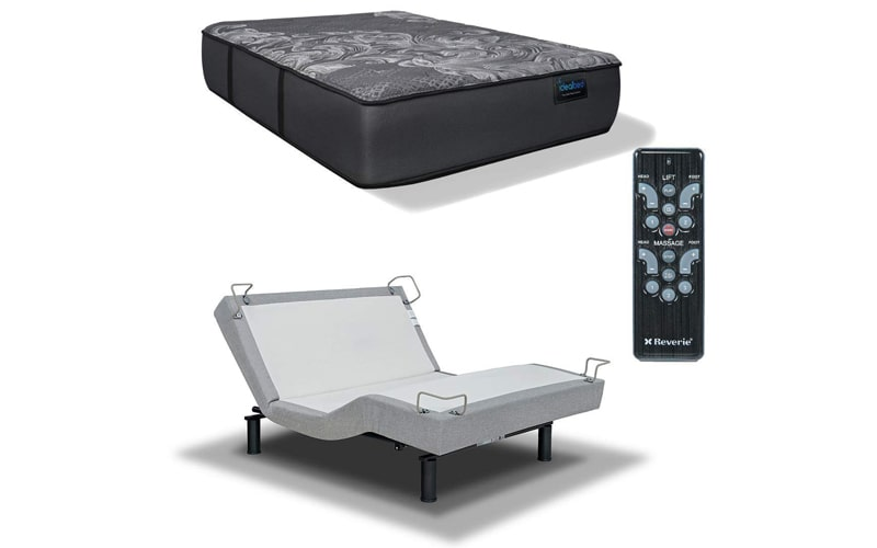 IDealBed Luxe Series Hybrid IQ5 Mattress with Adjustable Bed