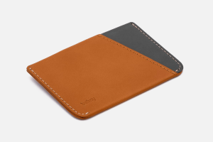 Best Flat: Bellroy Micro Sleeve Slim Leather Credit Card Holder Wallet