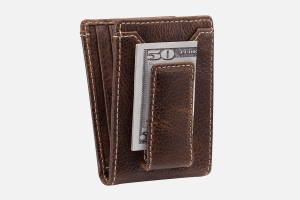 Best Magnetic: HOJ Co.IVAR-ID Bifold Credit Card Holder Wallet with Money Clip