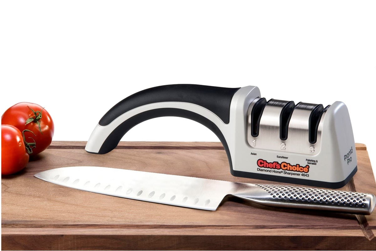 Chef'sChoice ProntoPro 4643 Diamond Coated 3-Stage Knife Sharpener