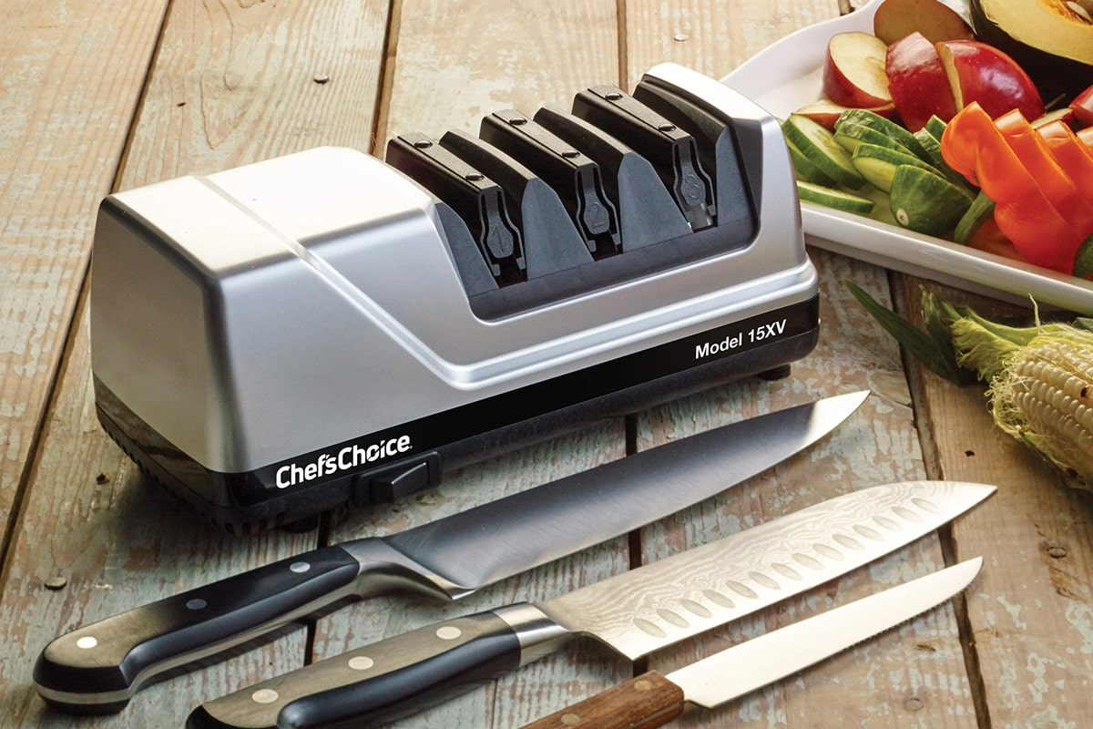 Best Electric Chef'sChoice 320 2-Stage Diamond Knife Sharpener