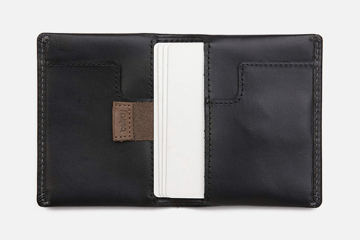 Best Vertical: Bellroy Card Sleeve Leather Minimalist Wallet