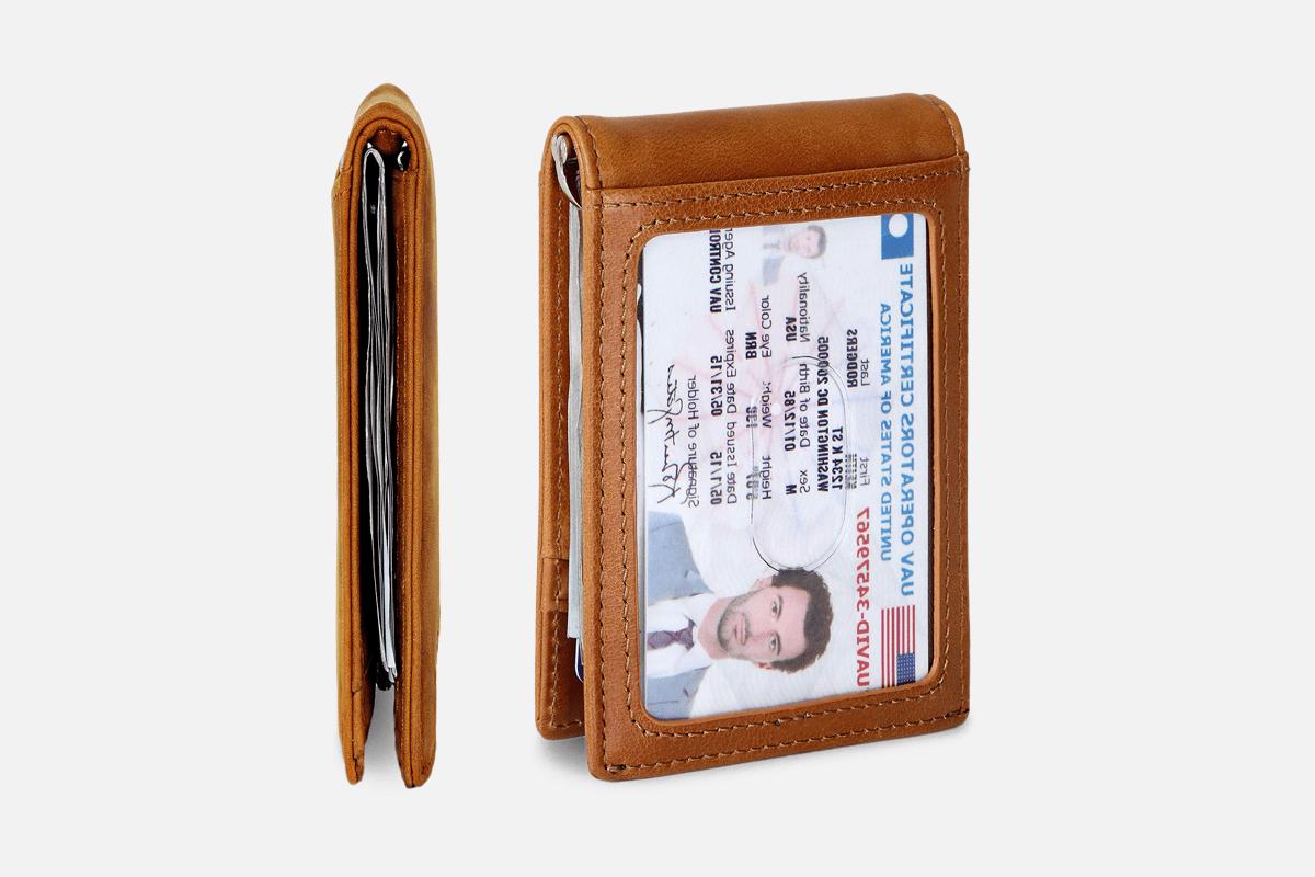 SERMAN BRANDS Minimalist Wallet