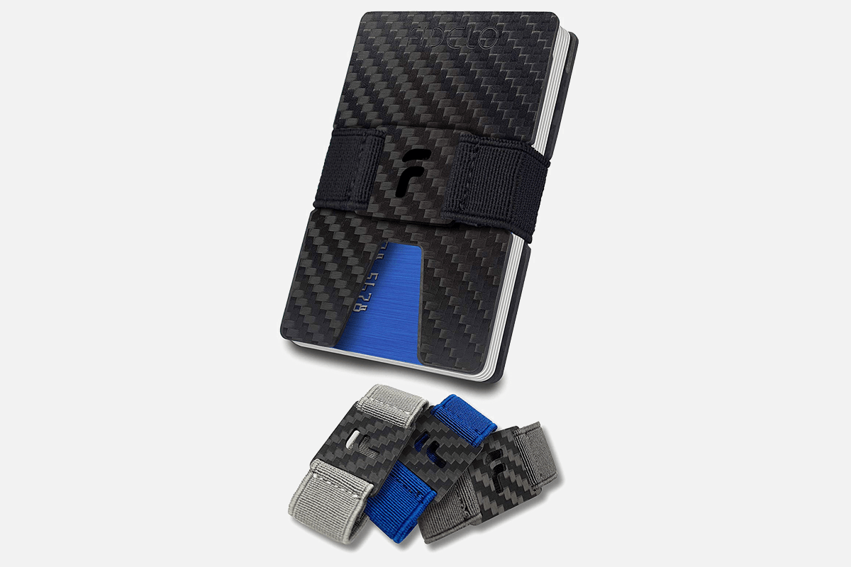 Best Compact: FIDELO Carbon Fiber Minimalist Wallet