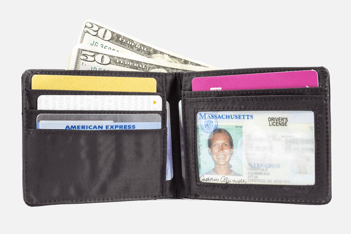 Best Slimline BiFold: Big Skinny Bifold Minimalist Wallet