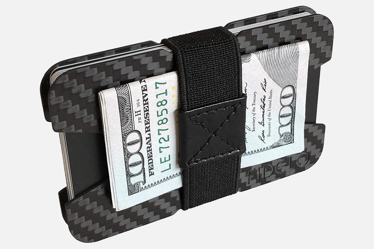 Best Carbon Fiber: FIDELO Carbon Fiber Slim Minimalist Wallet