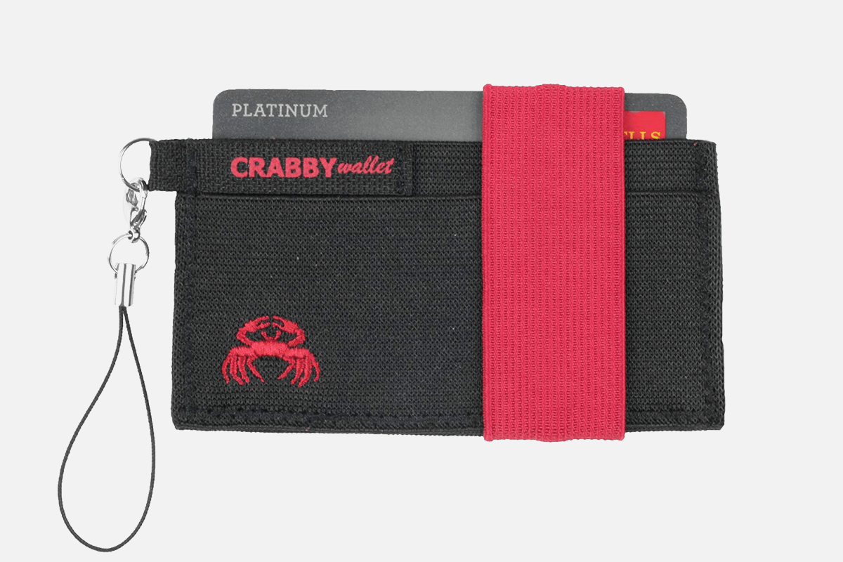 Best Ultra-thin: Crabby Gear Minimalist Wallet