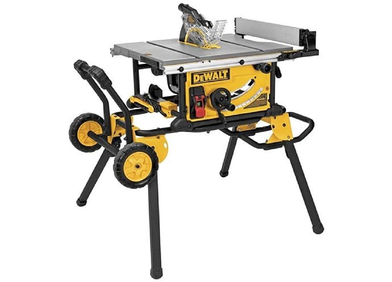 Best Overall Table Saw: DEWALT-DWE7491RS 10-Inch Table Saw