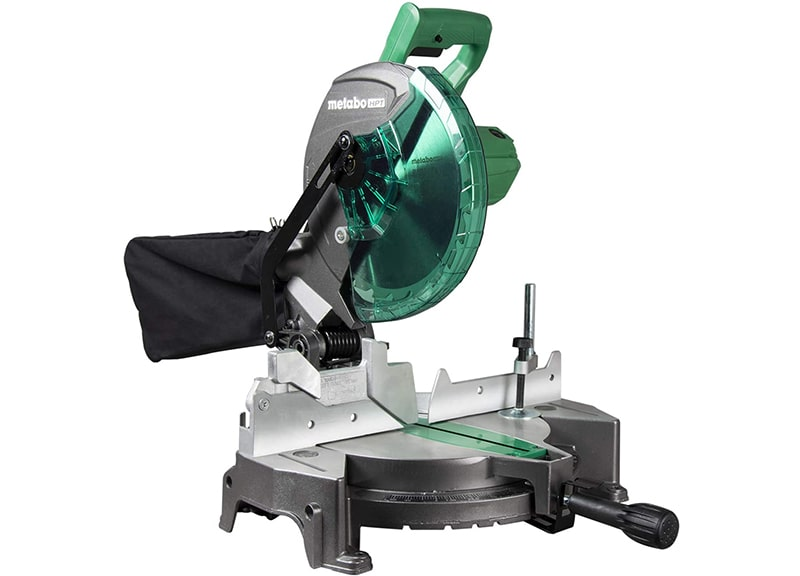 Best Value Table Saw: Metabo HPT-C10FCGS-Compound Miter Saw