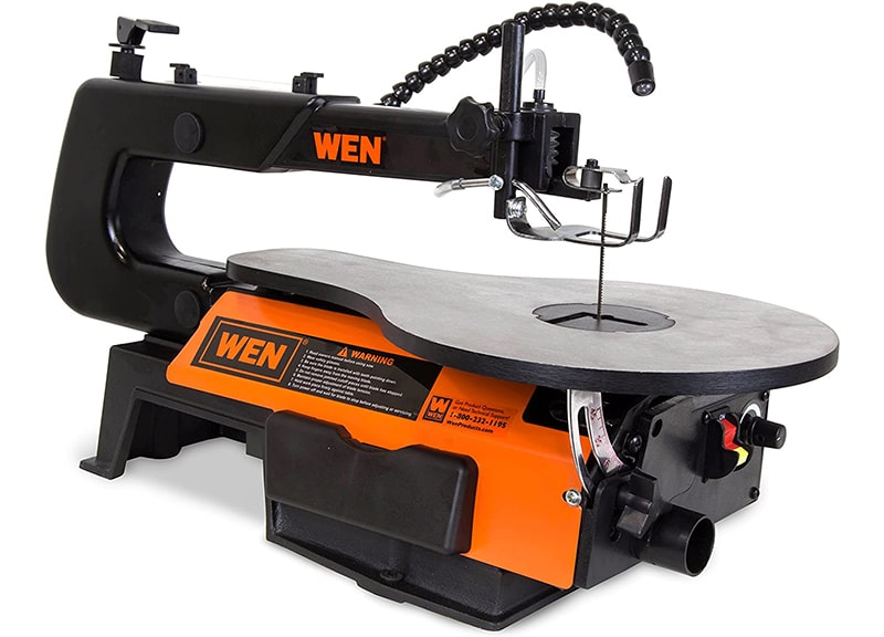 Best Contractor Table Saw: WEN 3912 16-Inch Two-Direction Variable Speed Scroll Saw