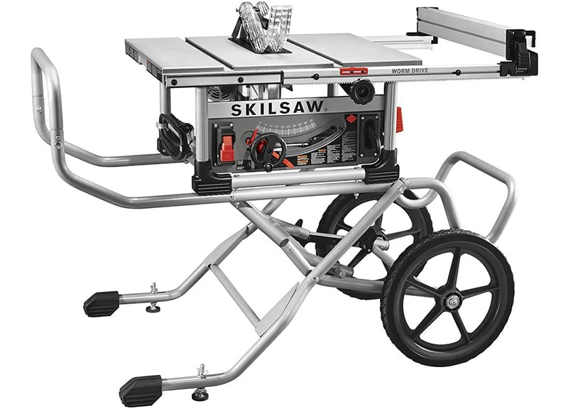 Best Value Portable Table SAW: SKILSAW-SPT 99-11 10-Inch-Heavy-Duty Table Saw