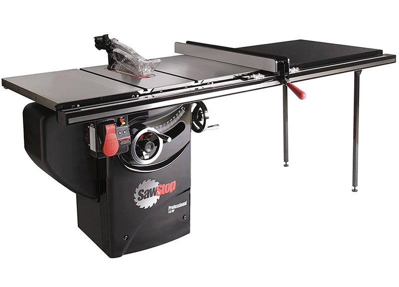 Best Reliable Table Saw: SawStop-10-Inch Professional Cabinet Saw