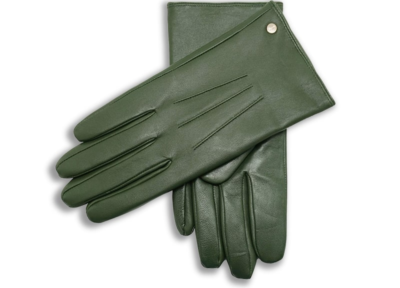 YISEVEN Women's Wool Lined Winter Genuine Leather Gloves