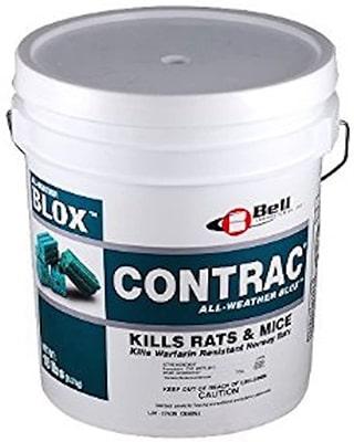 18 LB Contrac Blox Rodenticide Mouse Bait