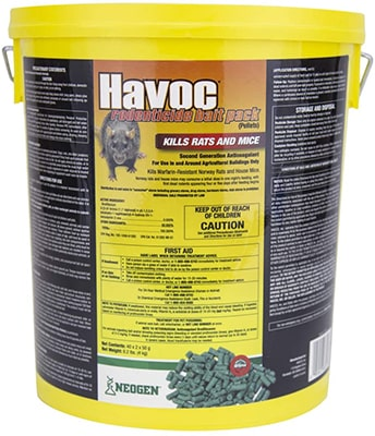 Neogen Havoc Mice Poison Mouse Bait