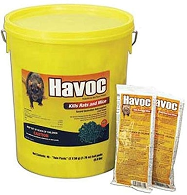 Neogen Havoc 40-pack Rodenticide Rat Mice and Mouse Bait