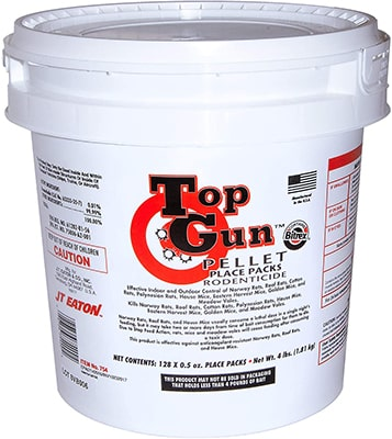JT Eaton 754 Top Gun Bait for Rats and Mice