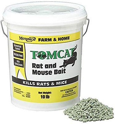 MOTOMCO 008-32345 Tomcat Mouse and Rat Bait