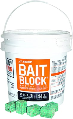 JT Eaton 166004-709 Bait Block for Mouse Mice and Rat