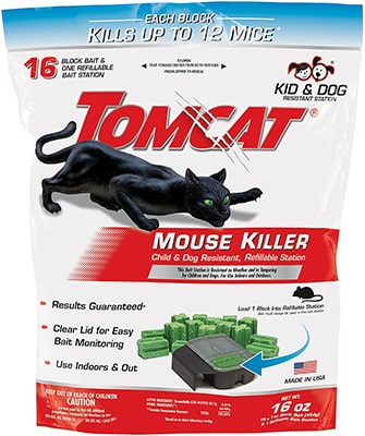 Tomcat Mouse Killer Refillable Station Bait