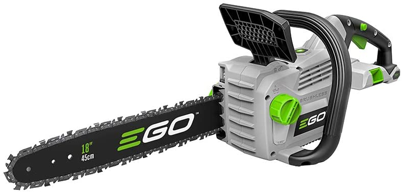 EGO Power + CS 1800 18-Inch Cordless, Battery Powered Chainsaw