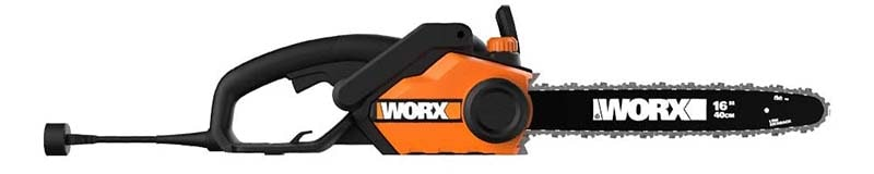 Worx WG301.1, 14.5 Amp, 16-inch Corded Electric Chainsaw