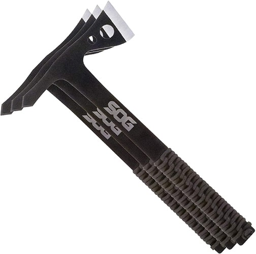 Best Heavy-duty Tomahawk SOG Tactical Tomahawk Pack of 3