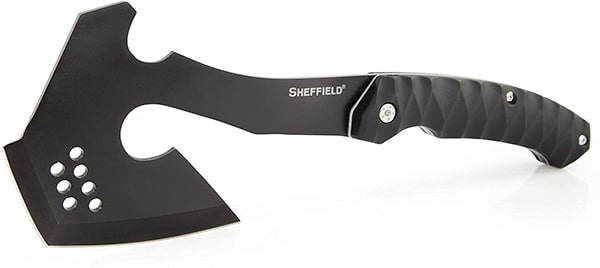 Best Corrosion Resistant Tomahawk Sheffield 12153 Standoff Tactical Tomahawk with Sheath