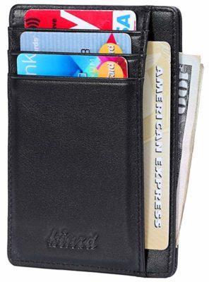 Best Overall: Kinzd Slim Credit Card Holder