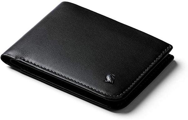 Best Leather Bifold: Bellroy Hide & Seek, slim leather Credit Card wallet