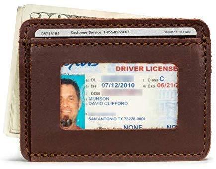 Best Front Pocket: Saddleback Leather Co. Slim Leather Front Pocket Credit Card Holder Wallet