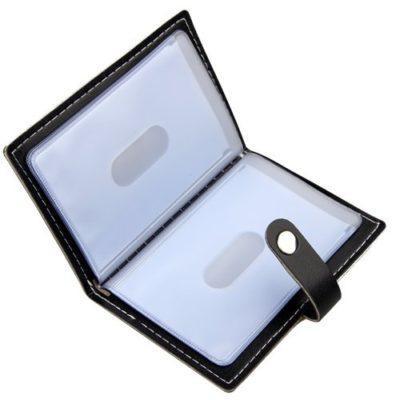 Best Minimalist: Karlling Slim Minimalist Soft Leather Credit Card Holder
